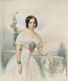 Гау В. И. Женский портрет