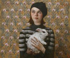 Стурис В. А. Саша с кроликом