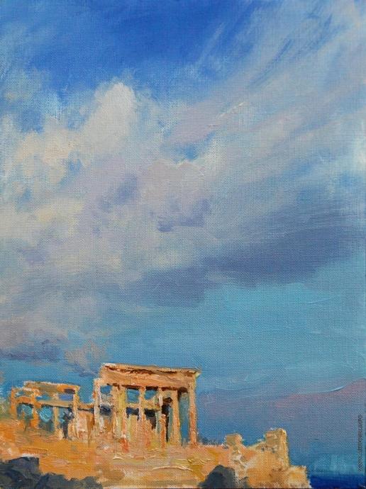Краснов Д. А. Храм Афеи на Эгине