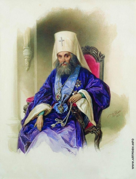 Гау В. И. Портрет митрополита Филарета