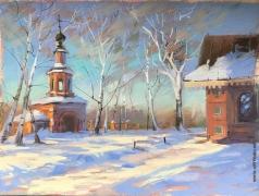 Климова И. Колокольня церкви Иоанна Предтечи в Ярославле