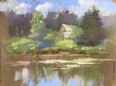 Климова И. Абрамцевский пруд