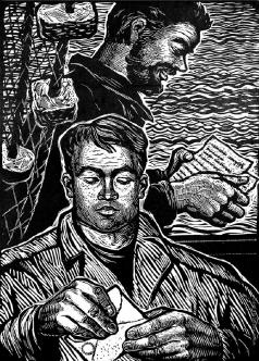 Шевченко А. А. Письма пришли. Из II серии «Колхозные рыбаки»