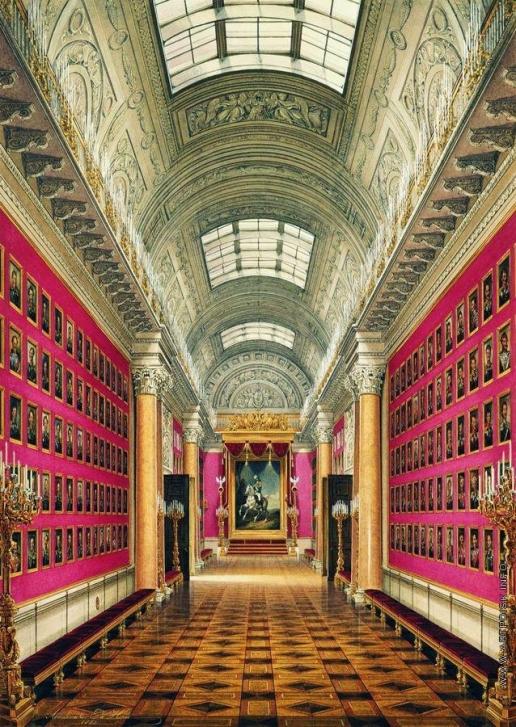 Гау Э. П. Военная галерея 1812 года в Зимнем дворце