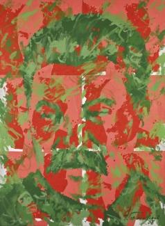 Гороховский Э. С. Без названия (Сталин с шестью Ленинами)