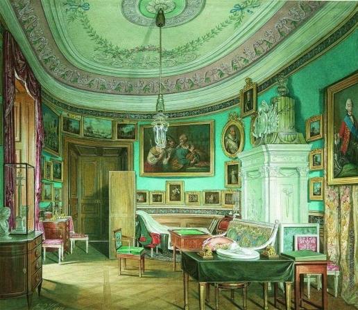 Гау Э. П. Овальный кабинет императора Павла I