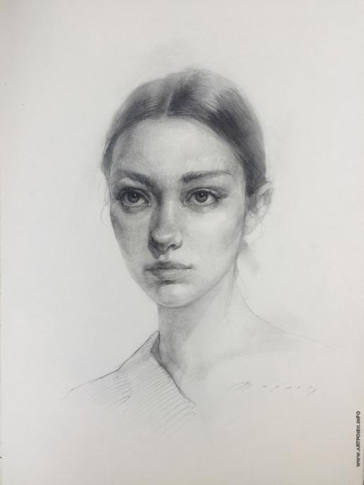 Ширяев А. Портрет девушки