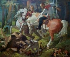 Кузнецов М. С. Охота на кабана