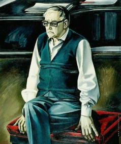 Салахов Т. Т. Портрет композитора Дмитрия Дмитриевича Шостаковича