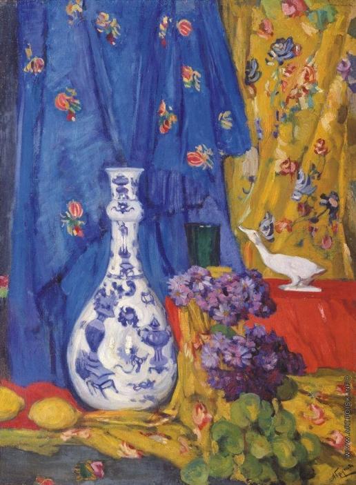 Гауш А. Ф. Китайская ваза