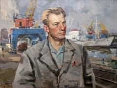 Карякин Н. П. Волохов. Крановщик торгового порта