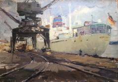 Карякин Н. П. В порту