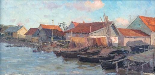 Карякин Н. П. На берегу залива