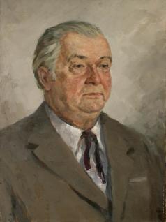 Карякин Н. П. Портрет художника Симонова