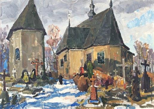 Карякин Н. П. Старое кладбище