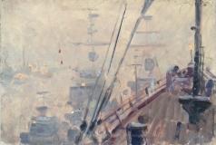 Карякин Н. П. Корабли в тумане