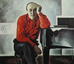 Салахов Т. Т. Портрет композитора Фикрета Амирова