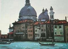 Салахов Т. Т. Большой Канал в Венеции