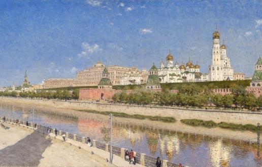 Верещагин В. В. Вид Московского кремля с Софийской набережной