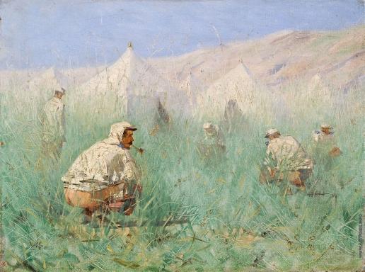 Верещагин В. В. Русский лагерь в Туркестане
