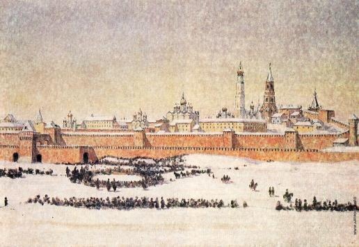 Верещагин В. В. Старая Москва