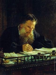 Ге Н. Н. Портрет Л.Н.Толстого