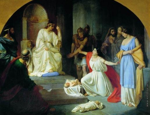 Ге Н. Н. Суд царя Соломона