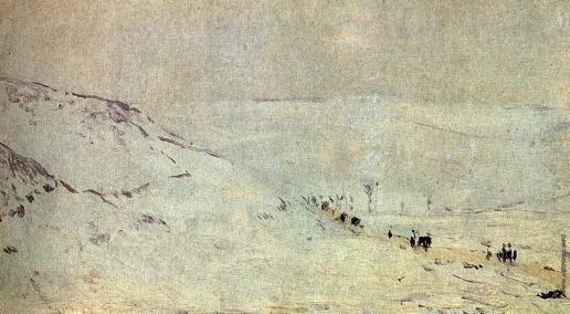 Верещагин В. В. Дорога около Плевны