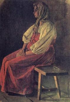 Верещагин В. В. Молоканка в красном сарафане