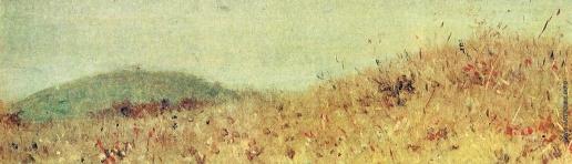 Верещагин В. В. Холмик (наблюдательный пункт) Александра II под Плевной