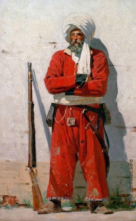 Верещагин В. В. Кокандский солдат
