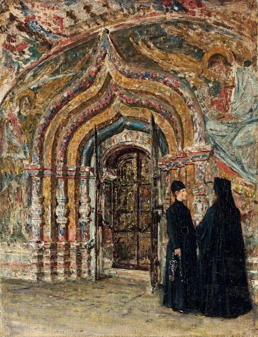 Верещагин В. В. Входная дверь в Ипатьевский собор в Костроме