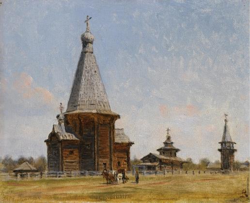 Верещагин В. В. Церковь в русской глубинке