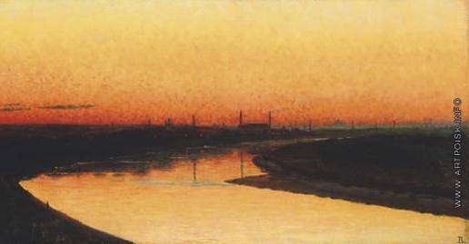 Верещагин В. В. Москва на закате