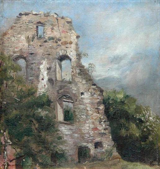 Верещагин В. В. Старые развалины