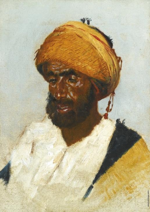 Верещагин В. В. Портрет араба