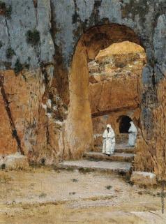Верещагин В. В. Вход в царские гробницы