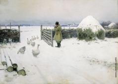 Гермашев М. М. Снег выпал