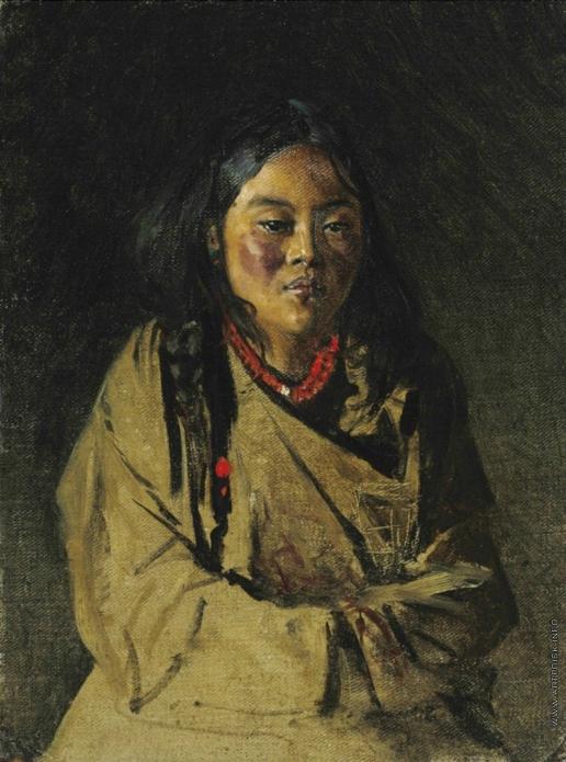 Верещагин В. В. Бутанская девушка