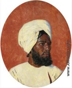Верещагин В. В. Портрет индийского мужчины