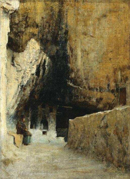 Верещагин В. В. Кухня монахов в пещере
