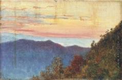 Верещагин В. В. Восход солнца в Гималаях