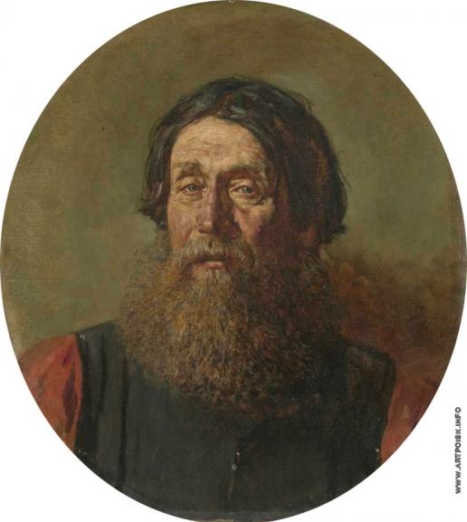 Верещагин В. В. Портрет мужчины