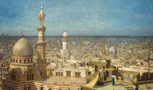 Верещагин В. В. Панорама Каира