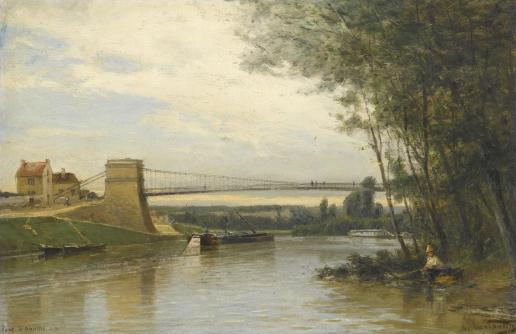 Боголюбов А. П. Мост в Овер-сюр-Уаз