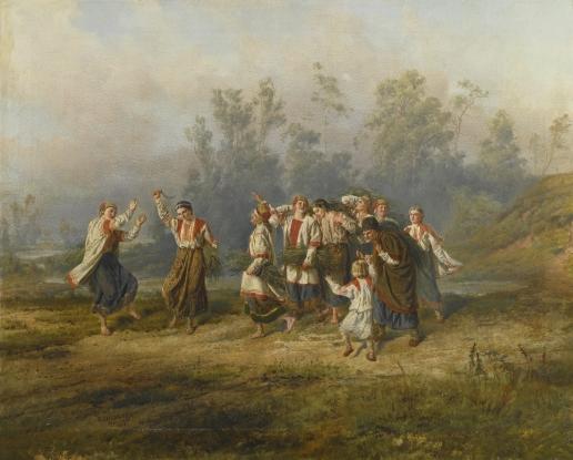 Шервуд В. О. Танец урожая