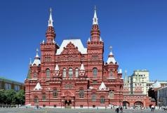 Шервуд В. О. Здание Императорского Российского Исторического Музея на Красной площади в Москве