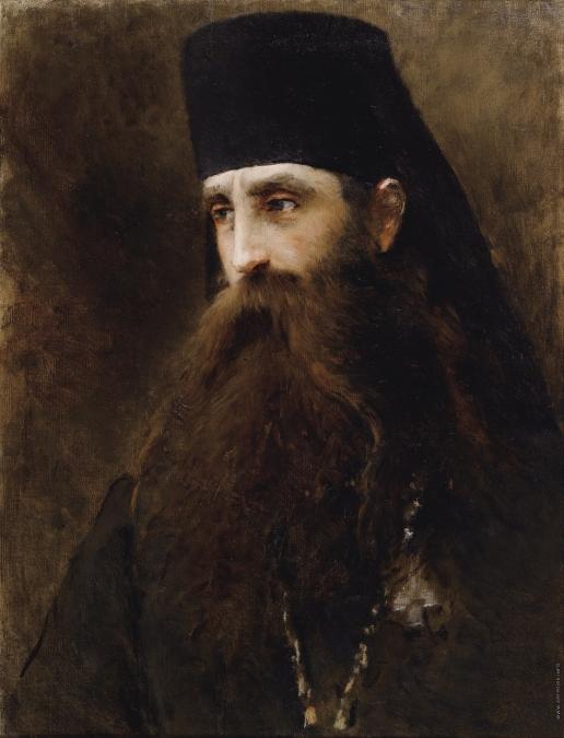 Маковский К. Е. Портрет священника