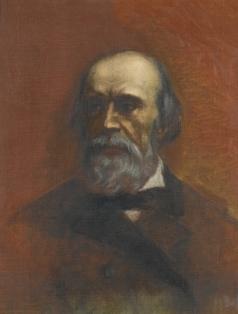 Семирадский Г. И. Портрет мужчины (Walerjan Zawisza Linkowiec)