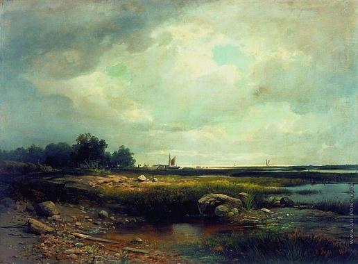 Гине А. В. Морской пейзаж